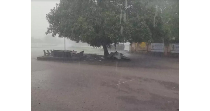 અમરેલી જિલ્લામાં સાડા ત્રણ ઇંચ વરસાદ: ખેડુતો ખુશ