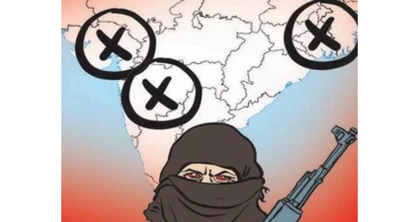 ગુજરાત-મહારાષ્ટ્ર અને પ.બંગાળમાં જેહાદનું આઈએસનું ષડયંત્ર