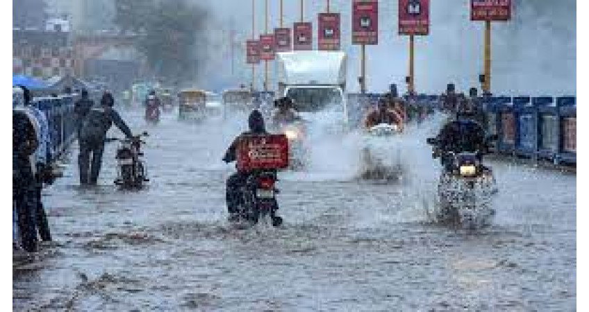 સવારથી બપોર સુધીમાં ગુજરાત-સૌરાષ્ટ્રમાં અડધાથી છ ઈંચ વરસાદ : મેઘમહેર યથાવત