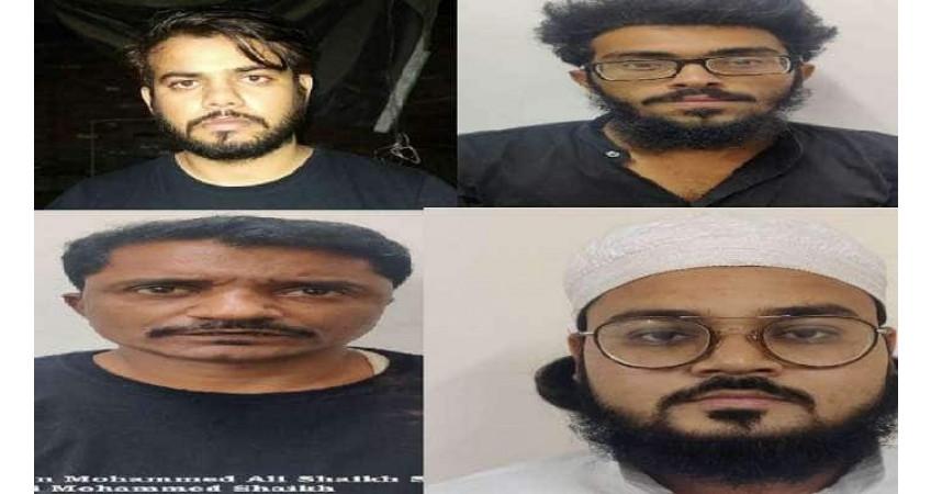 આતંકવાદીઓની દેશમાં મોટા વિસ્ફોટ કરવાની યોજના નિષ્ફળ: દિલ્હી પોલીસે બે પાકિસ્તાની સહિત 6 આતંકીની ધરપકડ કરી