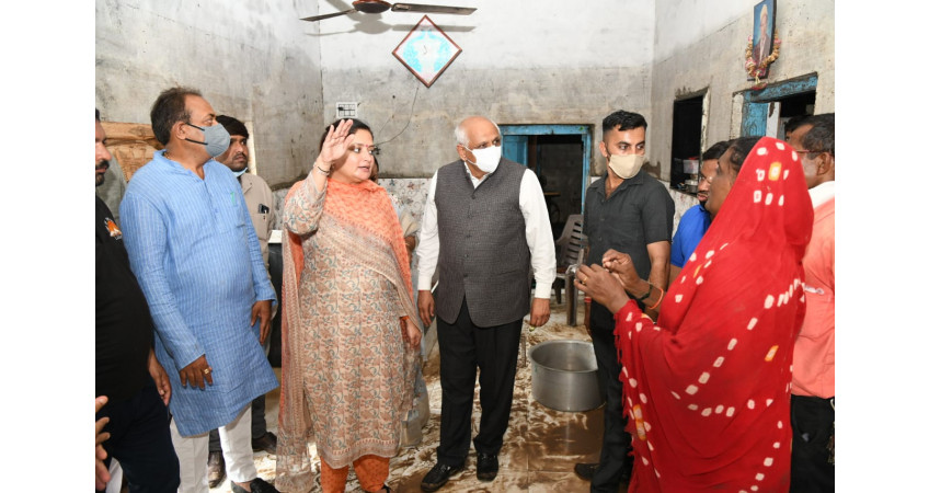જામનગર જિલ્લામાં કોઈ અસરગ્રસ્ત સહાયથી વંચિત નહીં રહે : CM ભુપેન્દ્ર પટેલ