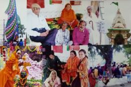 પોખરણથી પગપાળા જામનગર પધારેલા ભકતો દ્વારા રામદેવજી મંદિરમાં ધ્વજારોહણ