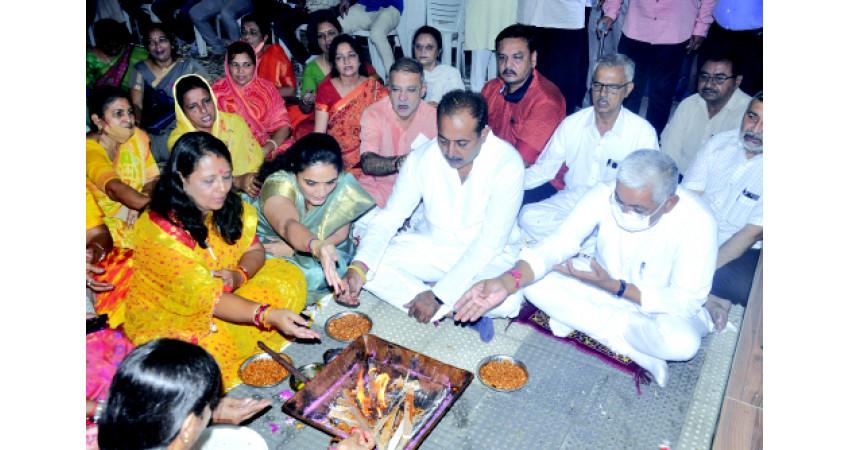 જામનગરના બન્ને પૂર્વમંત્રીઓ આજે મોદીના જન્મદિવસની ઉજવણીમાં જોડાયા