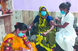 જામનગર જિલ્લામાં 117 કેન્દ્રો ઉપર 31 હજારથી વધુ લોકોએ વેકસીન લીધી